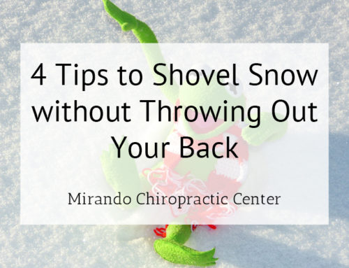 4 Tips to Shovel Snow without Throwing Out Your Back