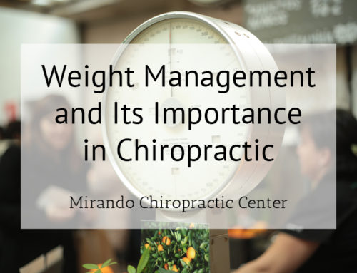 Weight Management and Its Importance in Chiropractic